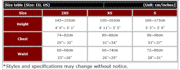 Hit Air Size Chart Hit Air Equestrian Sv2 Super Light Weight Vest