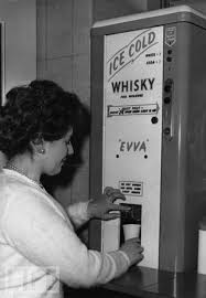Antique Whiskey Vending Machine For Sale