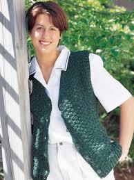Free Crochet Vest Patterns Gorgeous Free Crochet Vest Patterns Crochet And Knit