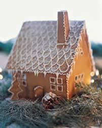 Premade Gingerbread Houses Gingerbread Houses And No Bake Cookie Cottages Martha Stewart