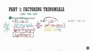 algebra 1 section 8 7 solving ax2 bx c 0
