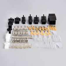 universal motorcycle wiring harness loom repair kit plugs bullet Universal Motorcycle Tachometer Wiring Diagram for Show universal motorcycle wiring harness loom repair kit plugs bullet connectors for honda yamaha suzuki kawasaki in battery cables & connectors from automobiles