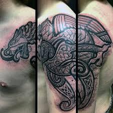 50 Keltské Dračí Tetování Vzory Pro Muže Knot Inkoustové Nápady