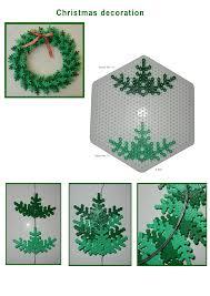 3D Christmas Tree Design  Hama Bead Ideas  Pinterest  Christmas Perler Beads Christmas Tree