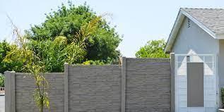 precast concrete fencing landscaping