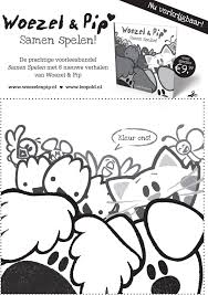 Mooi Kleurplaat Woezel En Pip Moederdag Klupaatswebsite
