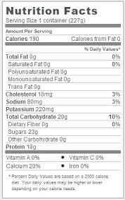 trader joe s non fat pumpkin greek yogurt nutrition facts