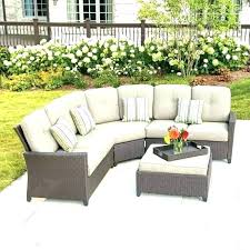 curved outdoor sectionals round garden seating uk