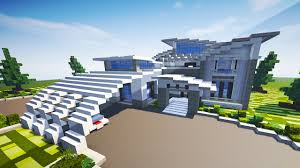 CONTEMPORARY MODERN HOUSE Minecraft Maps
