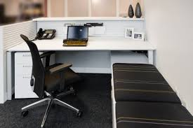 wooden desk  contemporary  commercial  with storage  fluent
