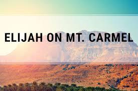 Image result for elijah on mt carmel