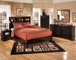 Small Area Rugs For Bedroom Bedroom Brown Modern Wooden Low Profil Bed Mettress Black