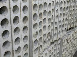 thermal insulation precast hollow core wall panels for commercial building