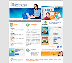 Simple Website Templates Enchanting Software Packages Website Template 48 Computers Technology
