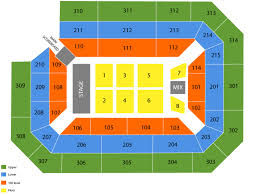 Ryan Center Seating Chart And Tickets