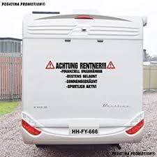 Wohnwagen Aufkleber Camping Wohnmobil Caravan Auto Sticker Mit