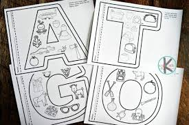 When your kid is coloring his alphabet coloring pages you can talk with him about taste if the object is fruit, about size if the object is elephant. Free Alphabet Coloring Pages