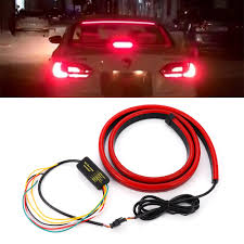 Automotive Led Light Controller Us 11 61 25 Off New Coming Super Bright Red Flowing Flashing Led Light Car Third Brake Light Rear Tail Mount Stop Lamp 12v Car Turn Signal Strip In