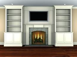 media center with fireplace corner electric