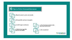Write Personal Statement In Cv Resume Personal Profile Writing