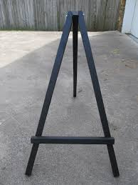mirror easel. how to make a large display easel mirror