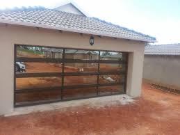 glass garage aluminium doors