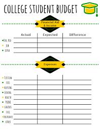 basic budget worksheet college student sheet basic budget worksheet college student image inspirations