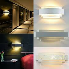 led wall light indoor up down lamp home