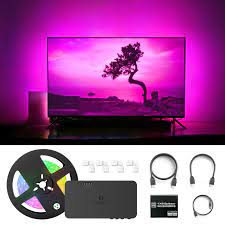 GLEDOPTO Smart TV Background Flex LED Strip Light HDMI compatible SYNC Box  Kit Color Change HDMI compatible Splitter Adapter|RGB Controlers