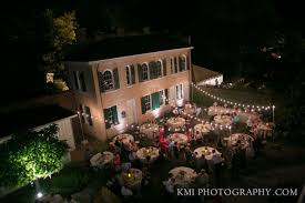 bellamy mansion outdoor string event lighting in wilmington nc
