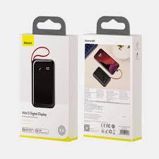 Pin sạc dự phòng 10.000mAh sạc nhanh 15W kèm dây hiệu Baseus Mini S Digital  Display 3A - Hàng chính hãng giá cạnh tranh