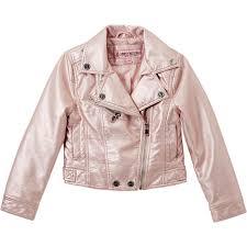 urban republic girls faux leather moto jacket