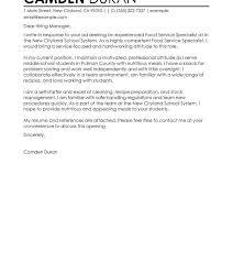 Summer Intern Cover Letter New Sample Cover Letter For Environmental