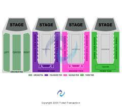 Benaroya Seating Chart Benaroya Hall Seating Chart