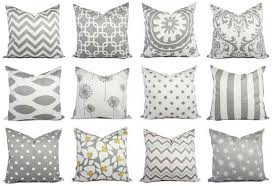 one decorative pillow cover grey pillow