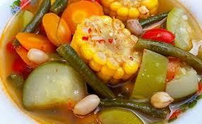 Sayur asem dengan bumbu yang ditumis, terasa segar, asam dan pedas. Resep Sayur Asem Bumbu Racik Paling Mudah Enak Cute766