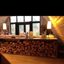 fire wood storage make this shorter to take up the window seal and make it a