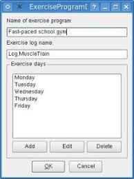 Gym Exercise Planner Fitness Documentation