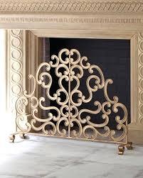 single panel fireplace screen canada pilgrim screens with doors