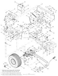 Mtd 13an662g729 2004 parts diagram for frame controls rh jackssmallengines