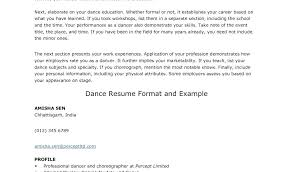 dance resume examples. Example Of A Dance Resume Dancer Resume Examples Full Size Of Large