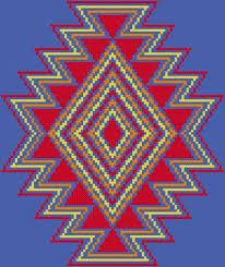 Southwest Pattern Cool Southwest Cross Stitch Pattern Native