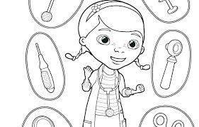 Doc Mcstuffins Coloring Pages To Print Doc Coloring Pages Sheets