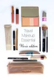 what s in my travel makeup bag minimalist makeup bag