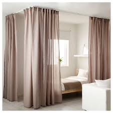 corner piece of furniture. ikea vidga corner piece single track makes it possible for curtains to go around corners of furniture p