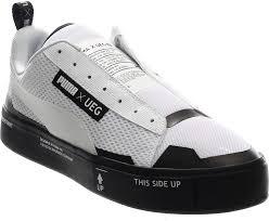 Puma Ueg Mid Amazoncom Puma Ueg Men Court Play Slipon white Black Shoes