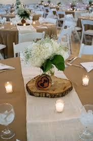 Mason Jar Table Decorations Wedding Hydrangea babies breath floral centerpiece in mason jar Flowers 26