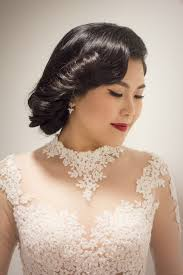 bride qiu rong hairdo and makeup by agnes yip msia bridal