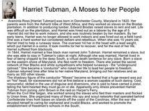 harriet tubman conclusion of an essay cause effect thesis  essay for harriet tubman underground railroad national monument