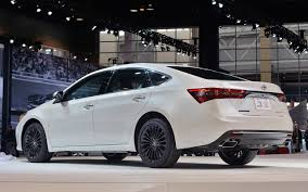Nice 2018 toyota avalon redesigned rear view | Moeroga Gallery